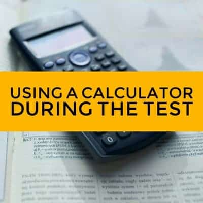 Using Calculator during GED Science Test