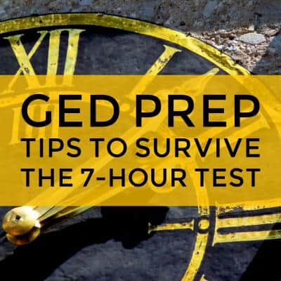 GED Prep Tips to survive Exam