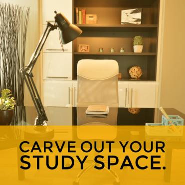 study space for GED