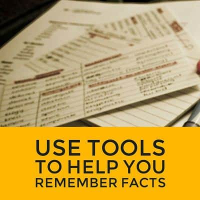 Study-tools-to-help-remember-facts