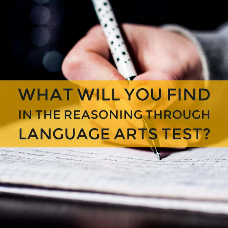 What Will You Find in the Reasoning Through Language Arts Test?