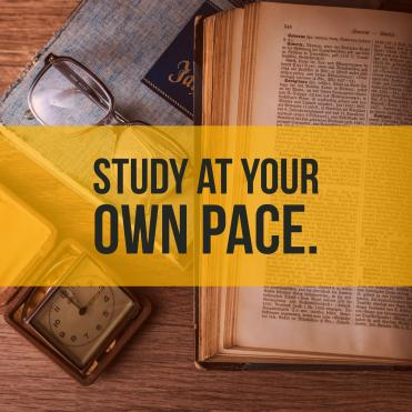 study GED at your own pace