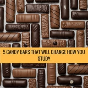 5 Candy Bars That Will Change How You Study
