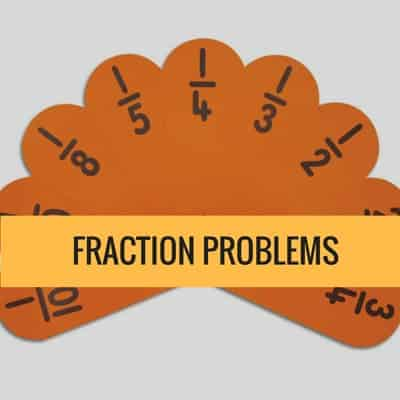 GED Math Practice Fraction Problems