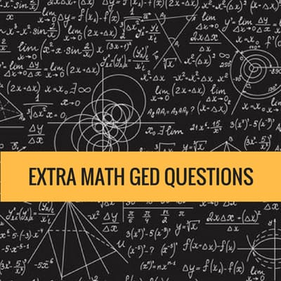 Extra Math Questions - GED Math
