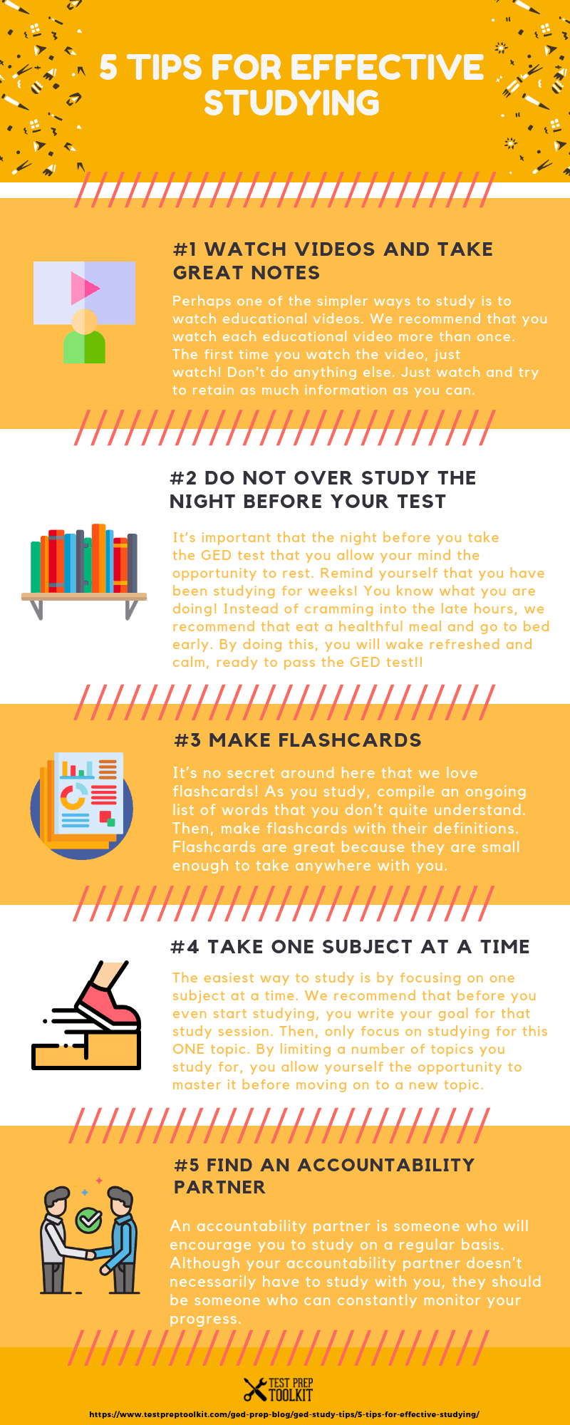 Tips for Effective Studying