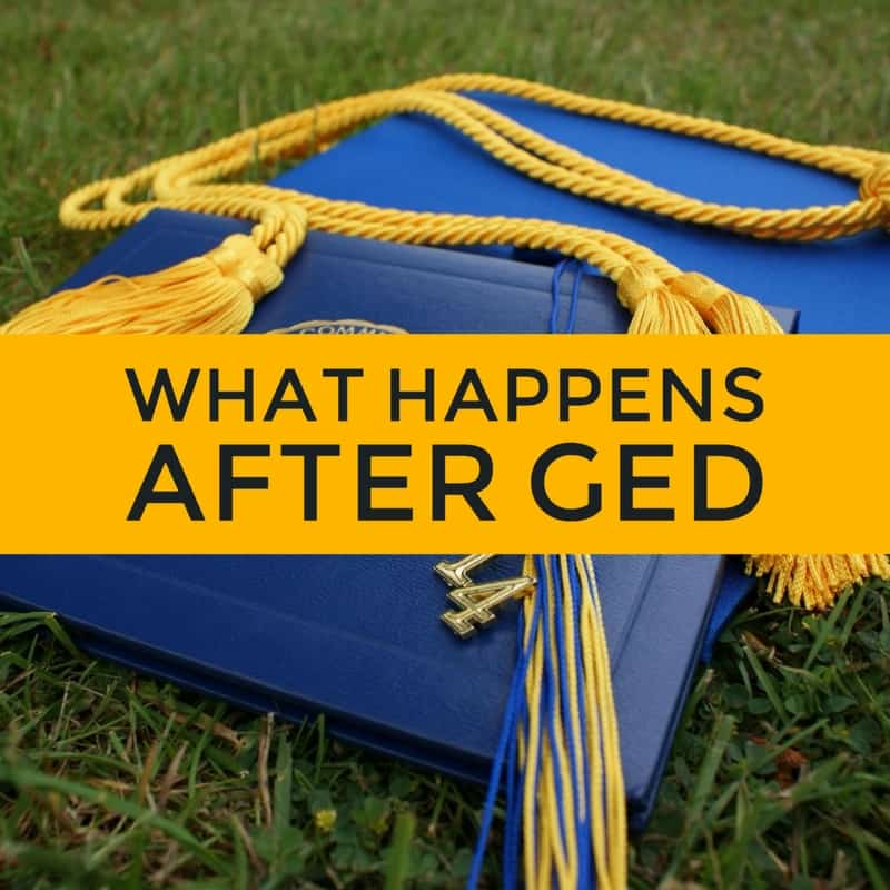 what happens after ged