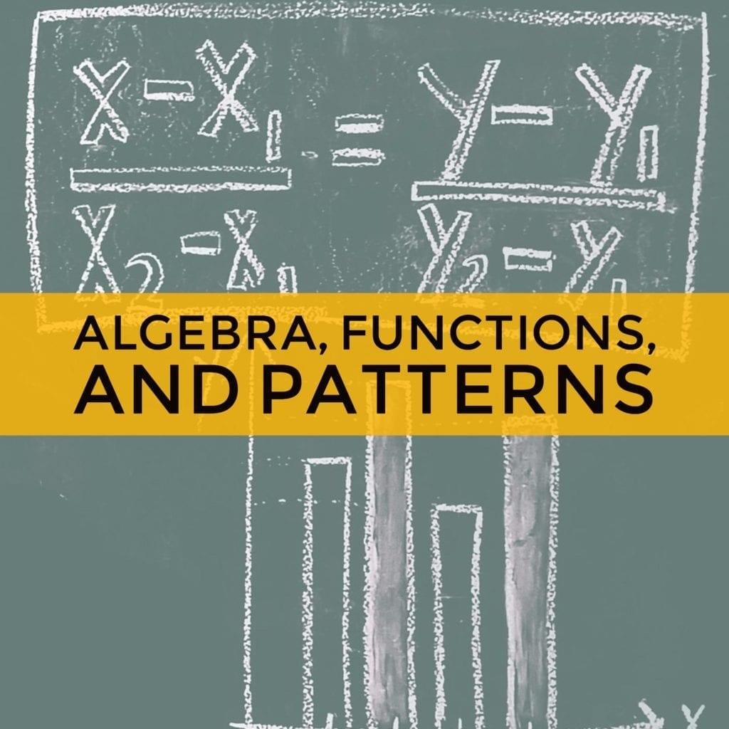 Algebra Functions and Patterns