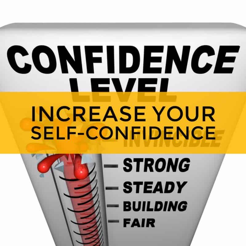 increase self confidence