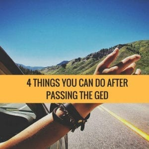 4 Things You Can Do After Passing The GED