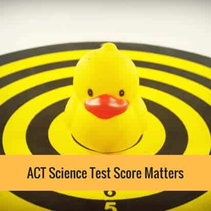 ACT Science Test Score Matters
