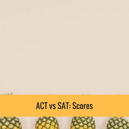 ACT vs SAT Scores