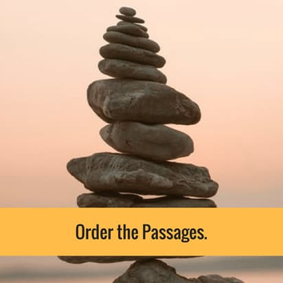 Order the Passages