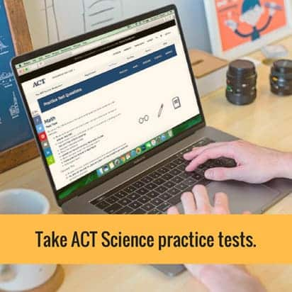 Take ACT Science practice tests