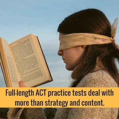 full length ACT practice tests