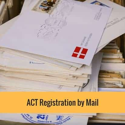 ACT Registration by Mail