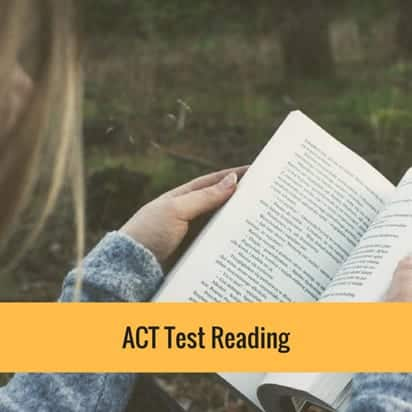 ACT test reading