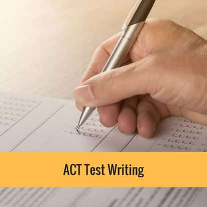 ACT test writing