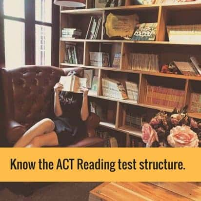 ACT Reading test structure