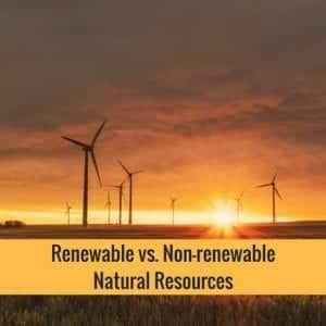 Renewable vs. Nonrenewable Natural Resources