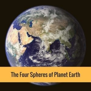 The Four Spheres of Planet Earth