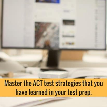 ACT test strategies