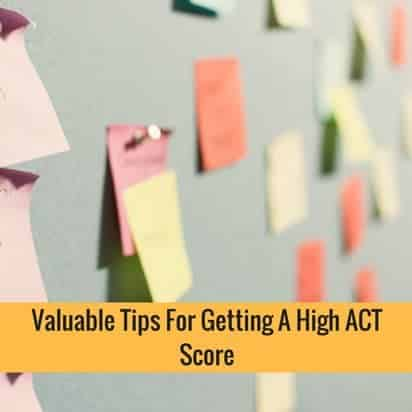 Tip For Getting High ACT Score