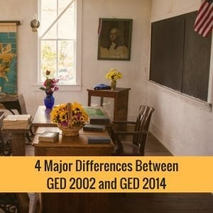 4 Major Differences Between GED 2002 And GED 2014