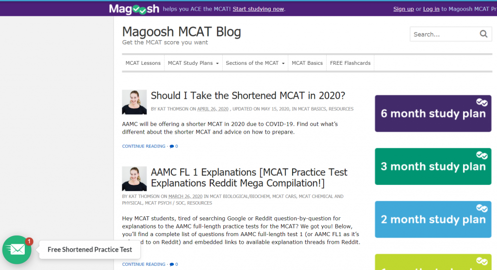 magoosh mcat