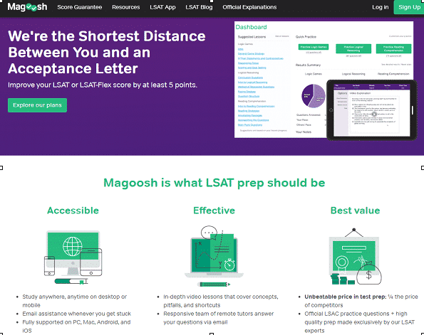 MAGOOSH LSAT REVIEW