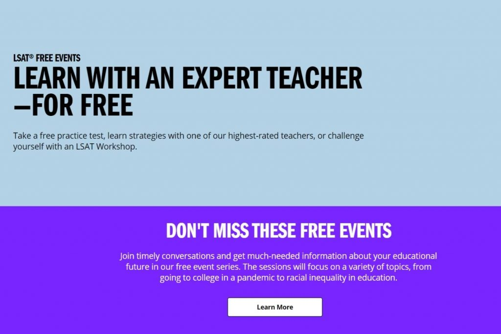 Free LSAT Events and Resources