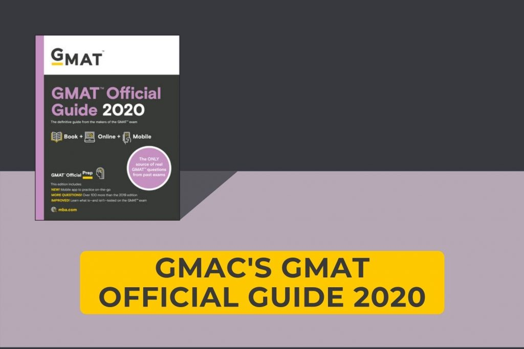 GMAC GMAT Official Guide 2020