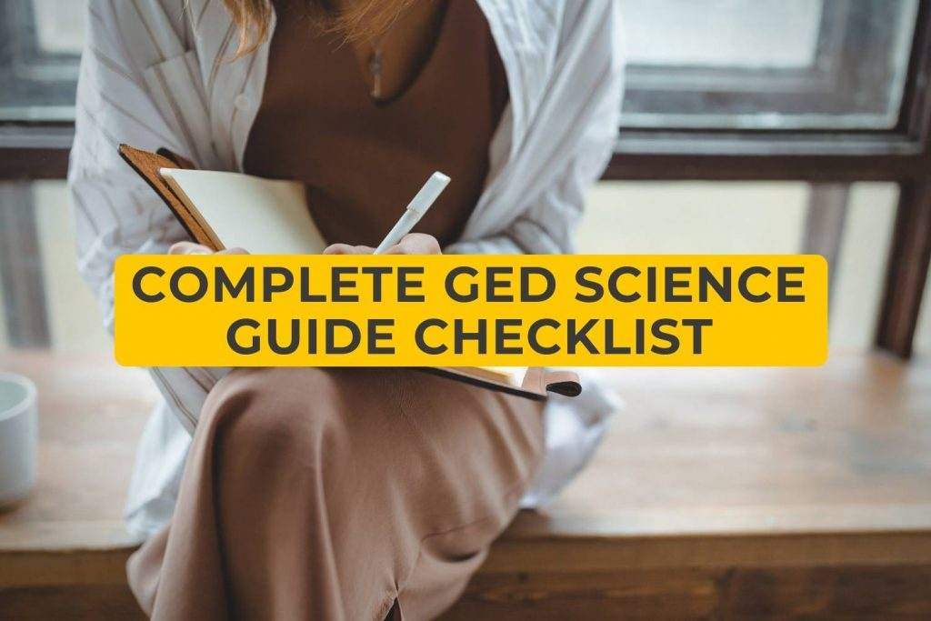 Complete GED Science Guide Checklist
