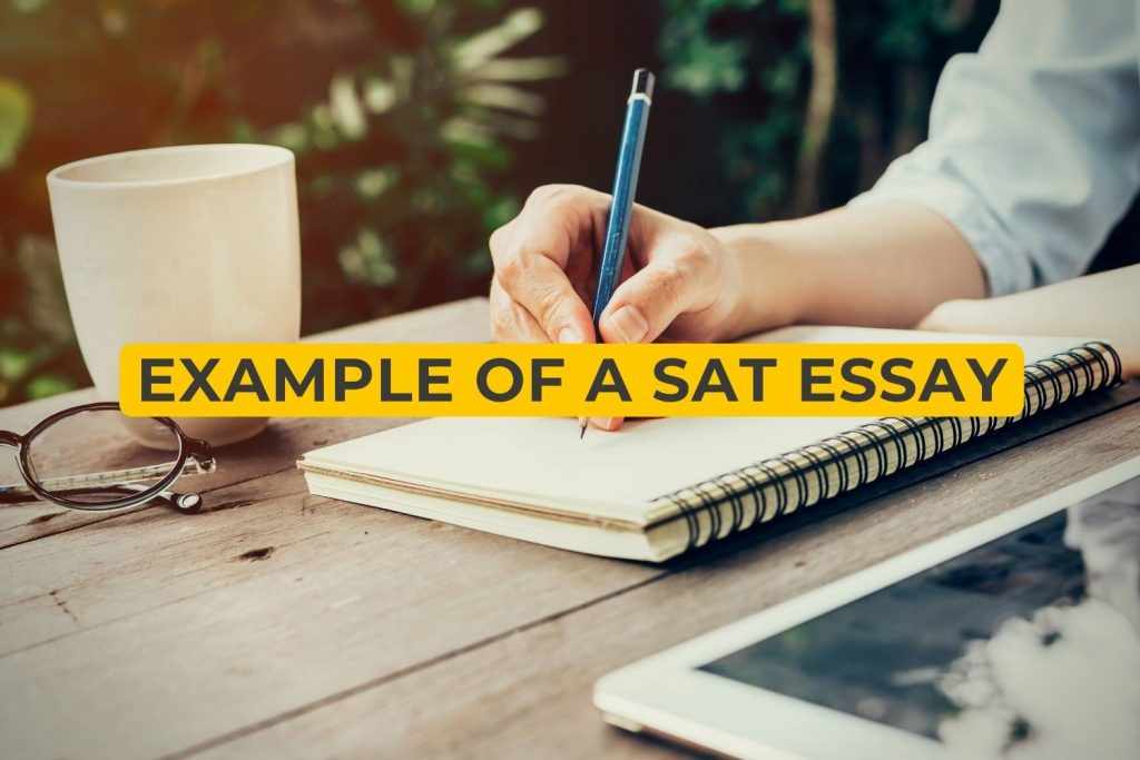Example Of A SAT Essay