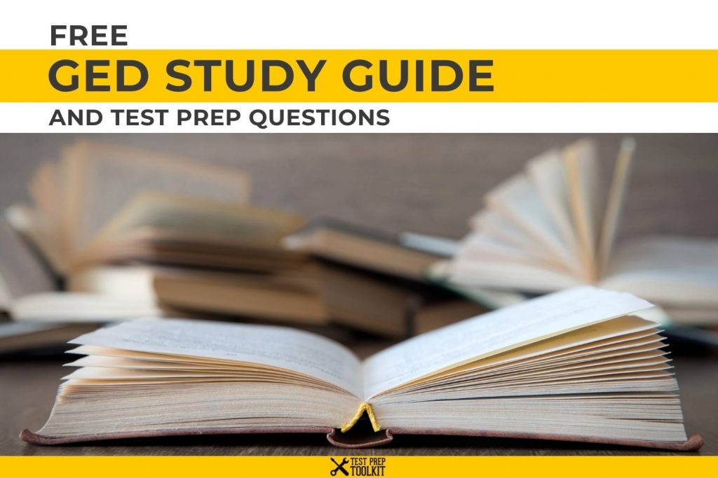 Free GED Study Guide and Test Prep Questions
