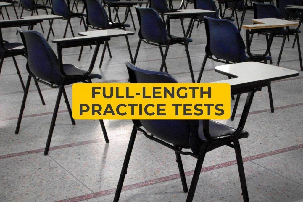 Full Length Practice Tests