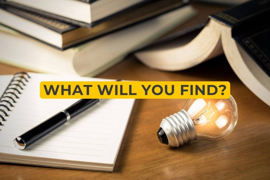 what will you find