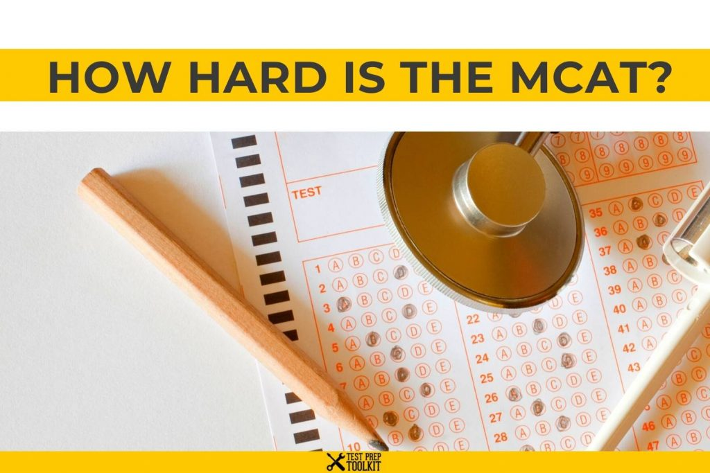 how hard is the mcat