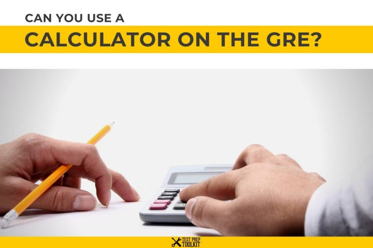 Can You Use A Calculator On The GRE