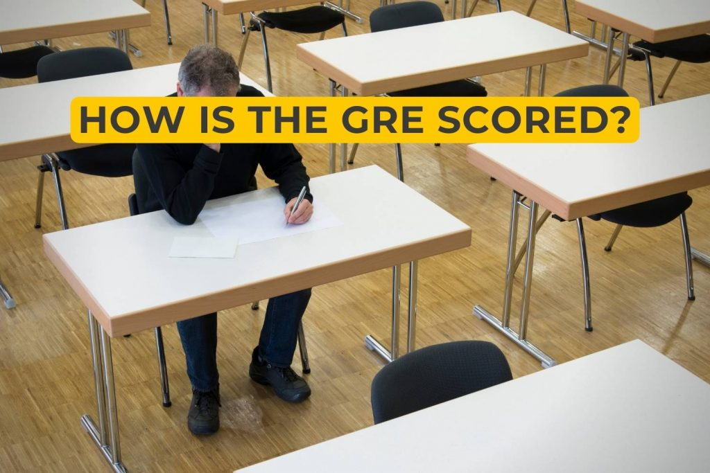 How is the GRE Scored