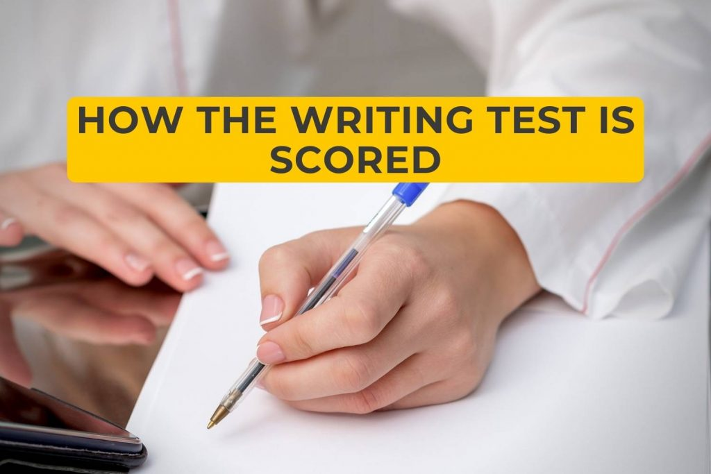 How the Writing Test is Scored