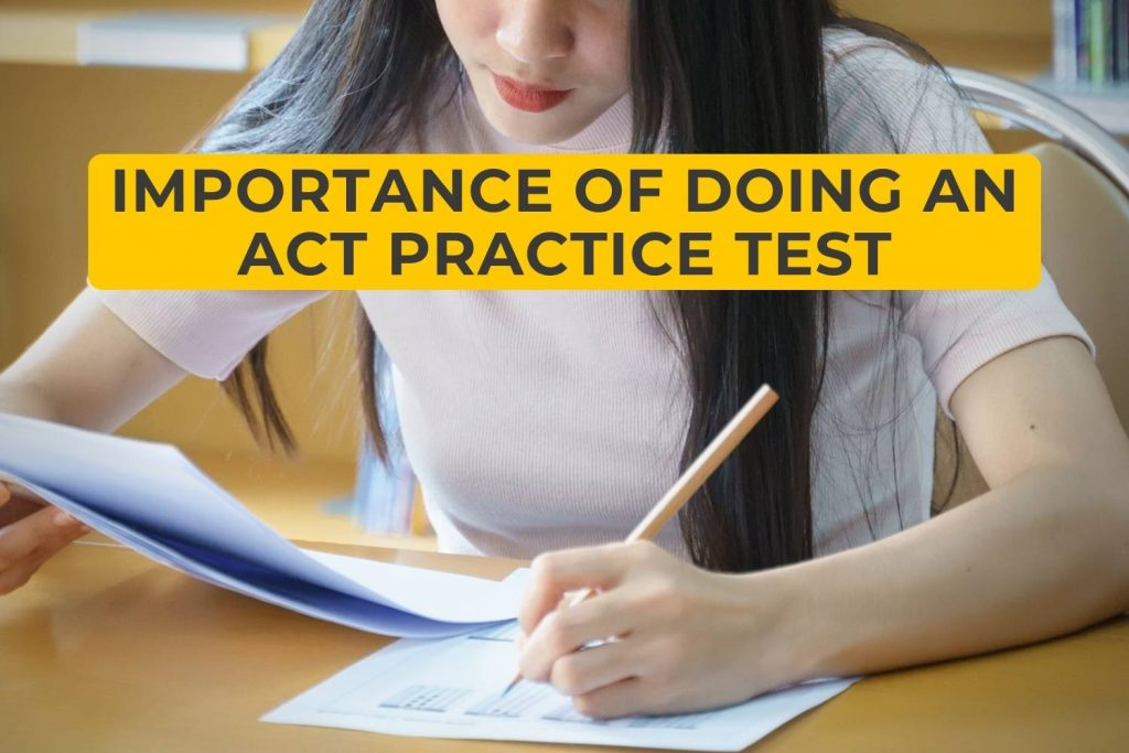 Importance of doing an ACT Practice Test