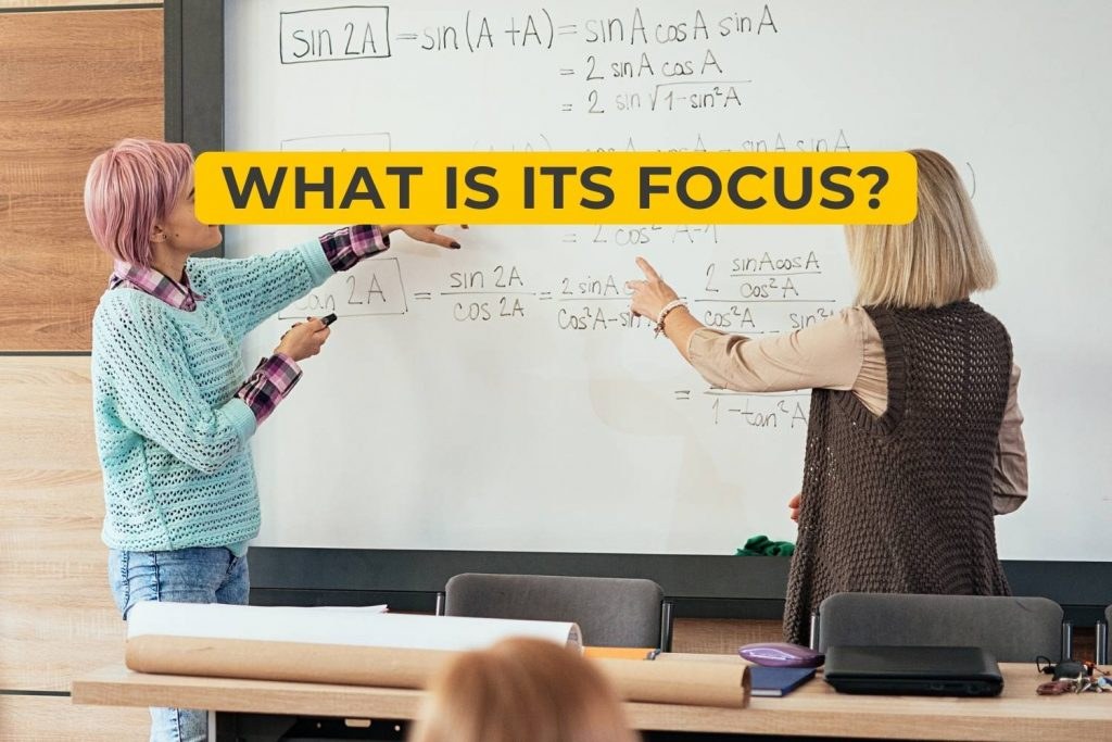 What Is Its Focus?