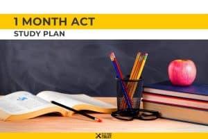 1 Month ACT Study Plan