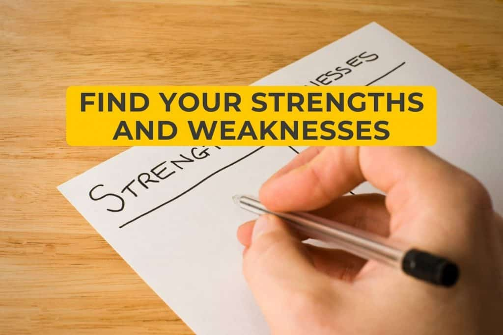 Find Your Strengths and Weaknesses