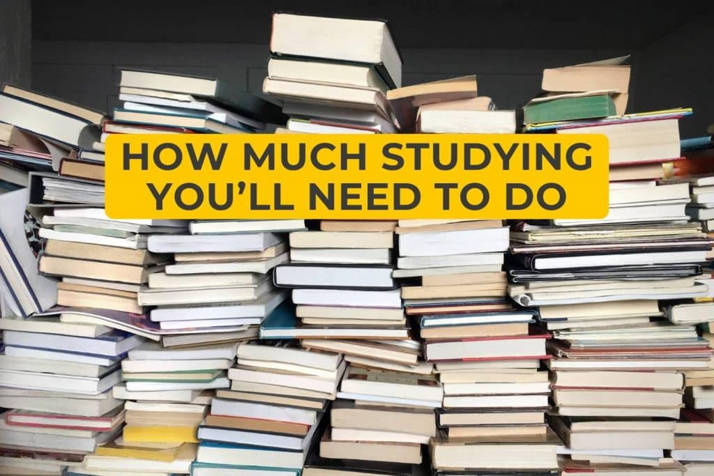 How Much Studying You'll Need to Do