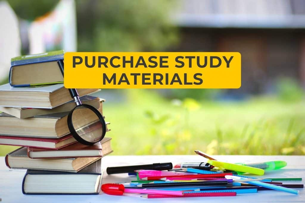 Purchase Study Materials