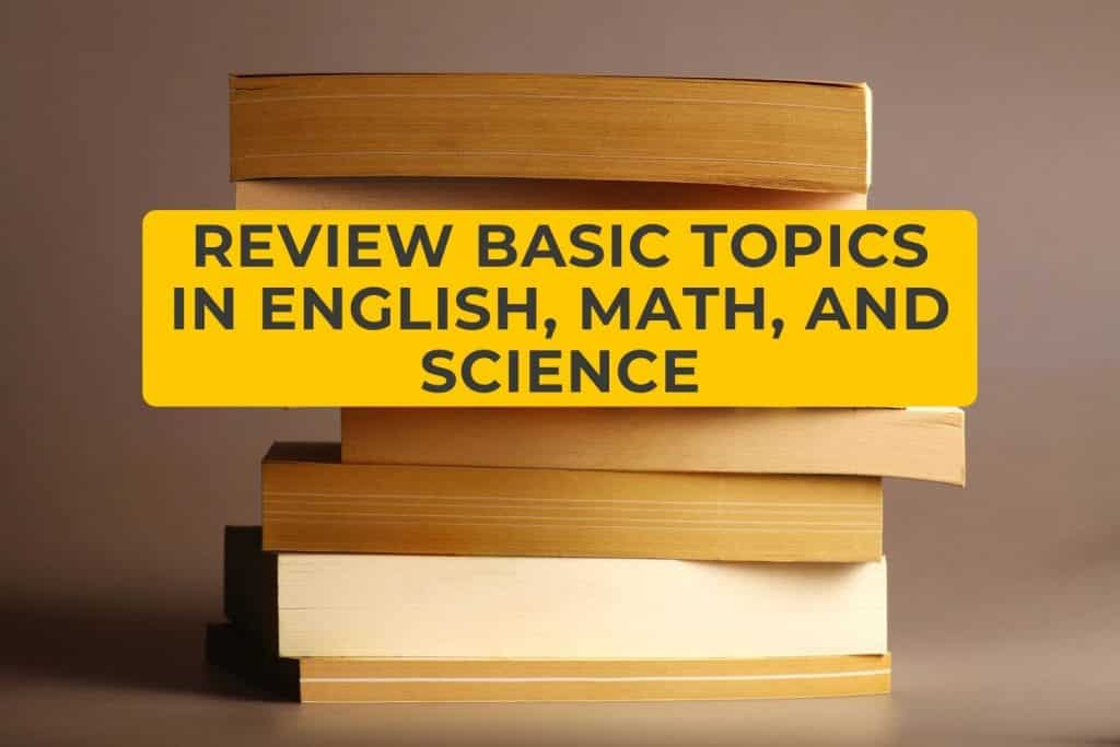Review Basic Topics