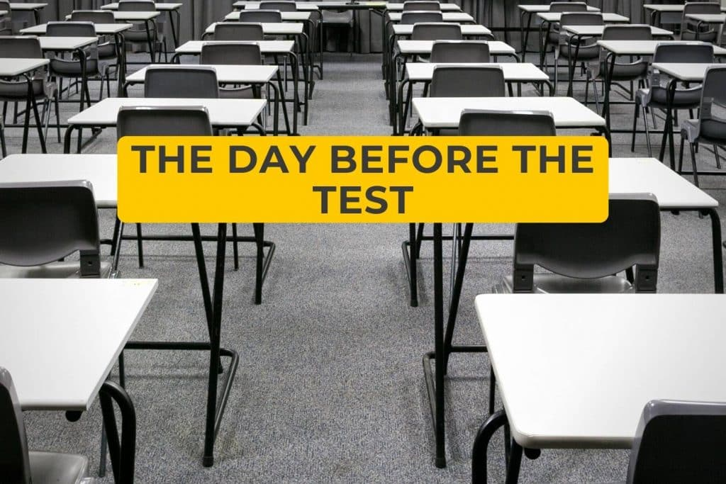 The Day Before the Test