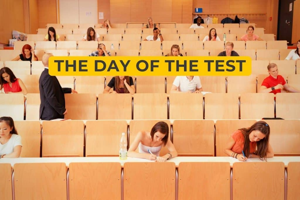 The Day of the Test